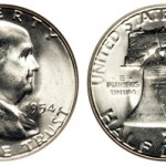 Franklin Half Dollars, and Other US Silver Coins, Saw Melt Values Rise 2.2%