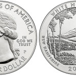 US Melt Values for Silver Coins (such as this recently released White Mountain Coin) fell this week